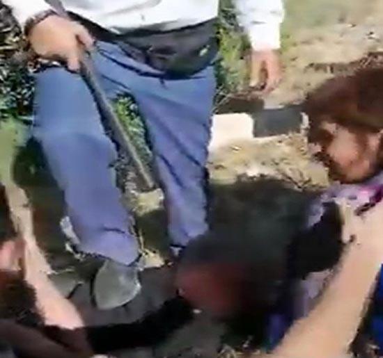 فیلم اعترافات دختر آبادانی بعد از کتک خوردن : من باردار نیستم ( عکس صورت )