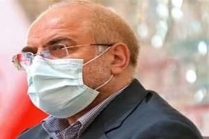 قالیباف رئیس مجلس ایران کرونا گرفت