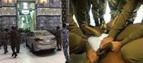 فیلم حمله عجیب مردی با ماشین به مسجدالحرام