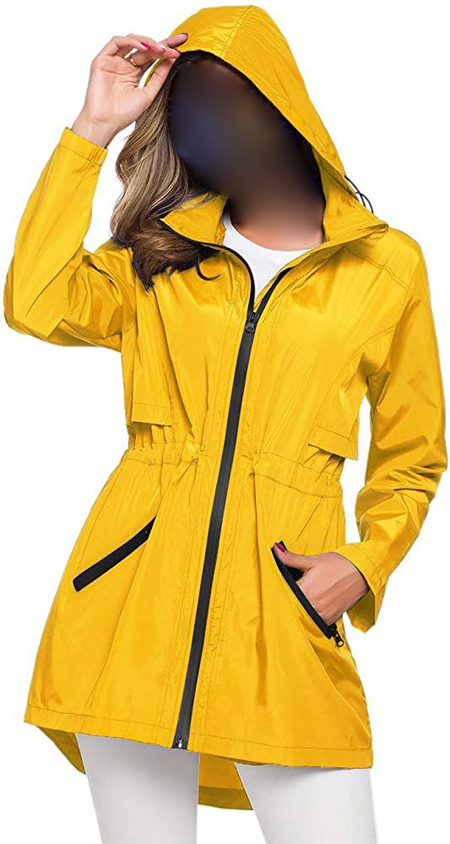 جدیدترین مدلهای اسپرت و شیک بارانی زنانه