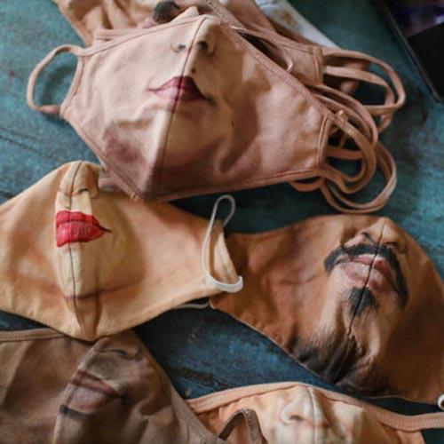 طراحی ماسک های جذاب برای نمایش چهره ( عکس )