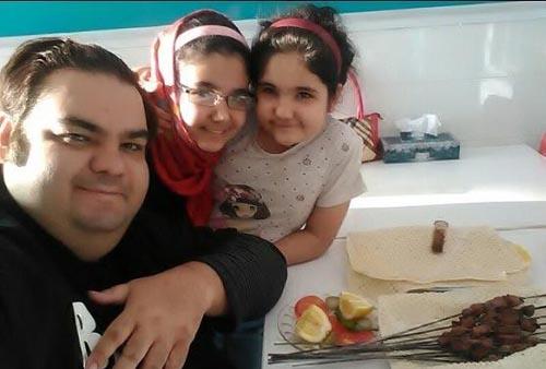 بیوگرافی چاقترین بازیگر ایرانی و همسرش ( عکس )