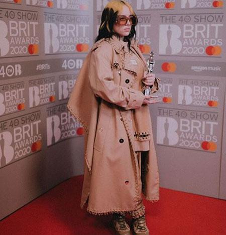 بیوگرافی و عکسهای بیلی آیلیش خواننده آمریکایی