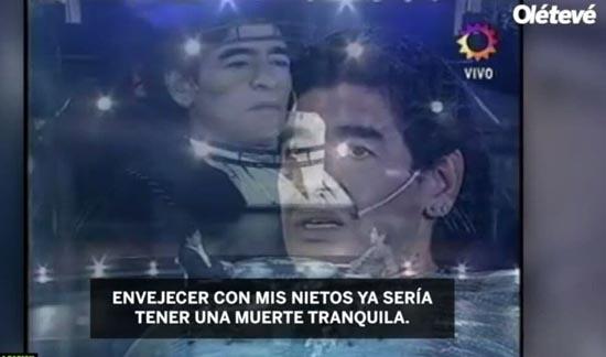 وصیت مارادونا برای سنگ قبرش ( عکس )