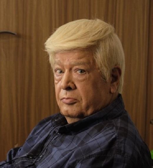 بازیگر ایرانی مشهور در نقش ترامپ ( عکس )