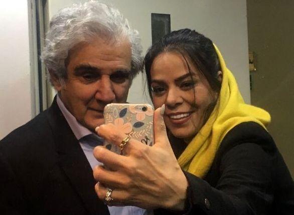 عکسهای جدید تولد مهدی هاشمی در کنار همسر دومش ( عکس )