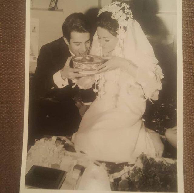 عکسهای دیده نشده عروسی مریم امیر جلالی در کنار شوهرش