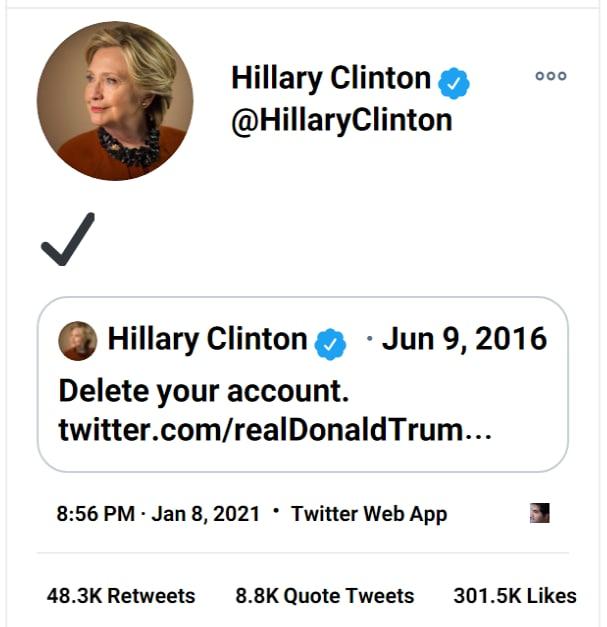 واکنش ترامپ به بسته شدن حساب توئیتر و حذف توئیتهایش ( عکس )