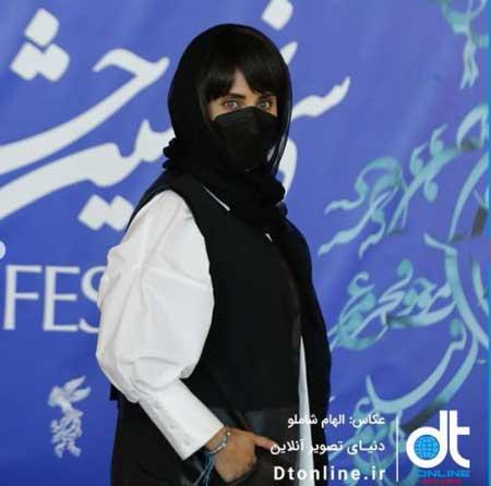 تیپ الناز شاکر دوست و بهرام رادان در جشنواره فیلم فجر 99