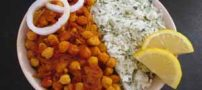 طرز تهیه غذای گیاهی چانا ماسالا