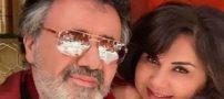 عکس معین خواننده مشهور در کنار همسرش و خواهر زنش