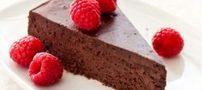 روش تهیه کیک شکلاتی جذاب و بدون آرد فقط در ایران ناز