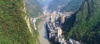 باریک ترین شهر چین،یانجین + عکس