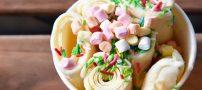 روش تهیه بستنی رولی خانگی با ترفند های ساده