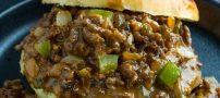 روش تهیه اسلوپی جوز غذای پرطرفدار آمریکایی