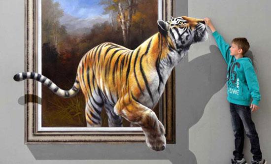 جالب ترین نقاشی های سه بعدی که تا به حال دیده اید