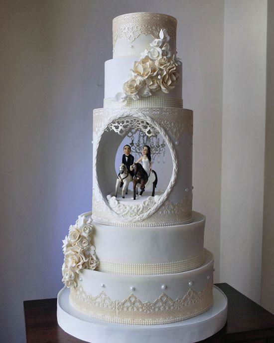 جدیدترین و شیک ترین مدل کیک مناسب عروسی