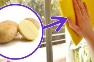 تاثیر سیب زمینی بر تمیز کردن ظروف