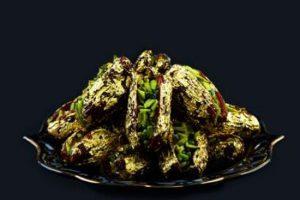 گرانترین خرمای جهان با روکش طلا در ایران + عکس