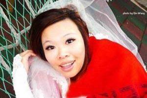 زن تایوانی طی مراسم رسمی با خودش ازدواج کرد + عکس