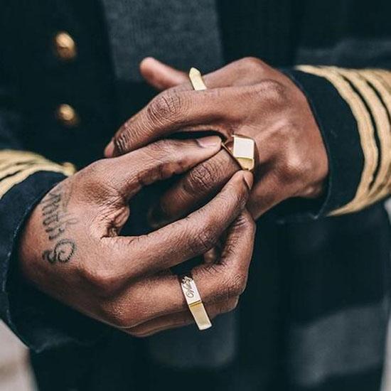 مدل های جدید و لاکچری انگشتر مردانه اسپرت و شیک