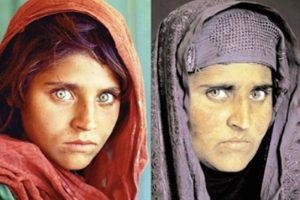 این دختر چشم زیبا مونالیزای افغانستان شد + عکس