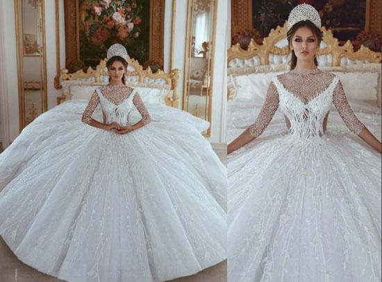 جدیدترین و لاکچری ترین مدل لباس عروس ترند 2021