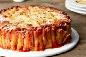 روش تهیه پاستا ریگاتونی با گوشت چرخ کرده + ترفند های پخت عالی