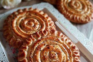 روش تهیه نان ازبکی با ساده ترین روش ها