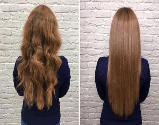 با این ترفند موهای خود را در منزل کراتینه کنید
