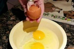 تخم مرغی که آبستن تخم مرغ دیگر بود + عکس