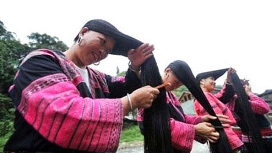 بلند ترین موای دنیا متعلق به زنان این روستاست + عکس