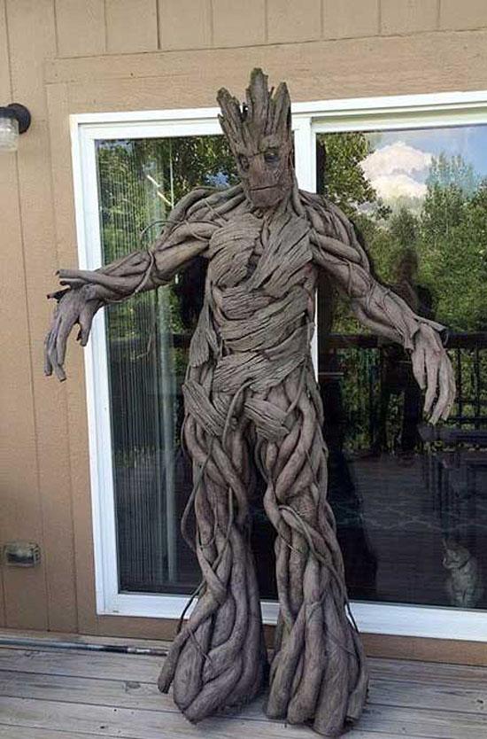 جالب ترین لباسی که با ریشه درخت ساخته شده است + عکس