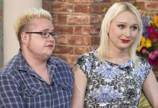 این زن و شوهر هر دو تغییر جنسیت دادند + عکس