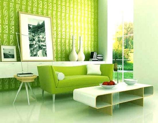 شیک ترین مدل های دکوراسیون سبز برای منزل