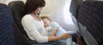 راه های آرام  کردن کودک بیش فعال در پرواز