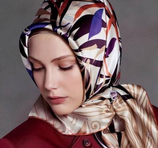 خداحافظی با معضل سر خوردن روسری روی سر