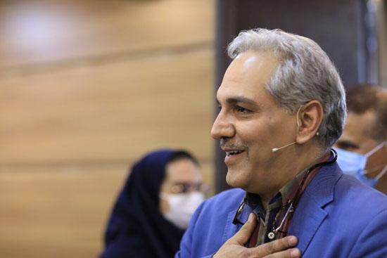 مهران مدیری به علت ابتلا به ویروس کرونا بستری شد + عکس