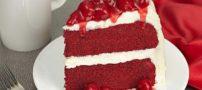 روش تهیه کیک مخملی سه رنگ