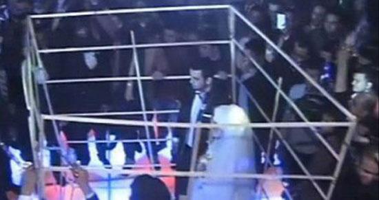 زن و شوهر مصری که به روش داعش عروسی گرفتند + عکس