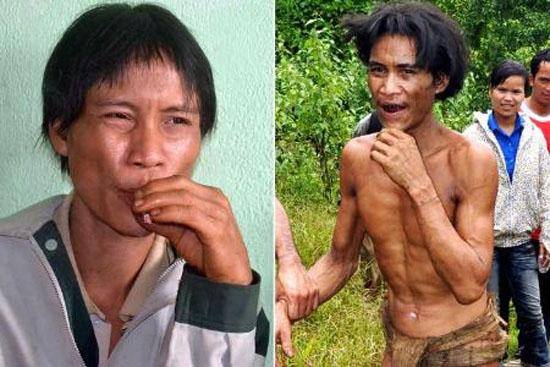 تارزان واقعی که 40 سال بدون هیچ امکاناتی در جنگل زندگی می کرد