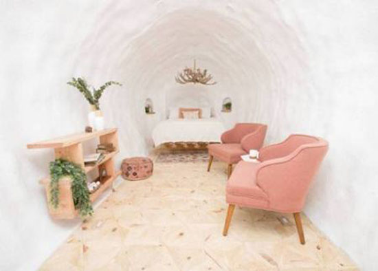 سیبزمینی جالب و شگفت انگیزی که به هتل تبدیل شده + عکس