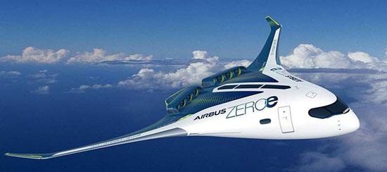 با هواپیمای هیدروژنی ایرباس آشنا شوید + عکس