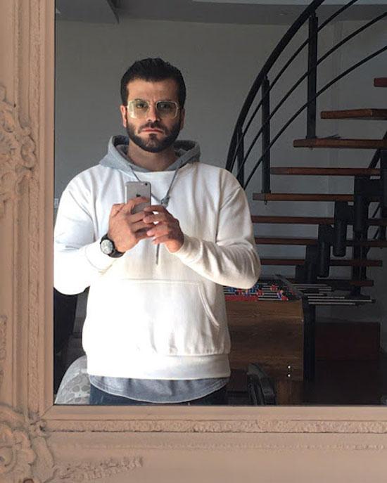 جدید ترین عکس های روزبه حصاری بازیگر سریال افرا
