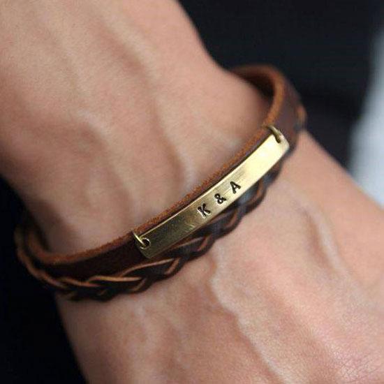 جدیدترین و شیک ترین مدل دستبند های چرمی فقط در ایران ناز