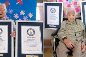 دوقلوهای پیری که در سن 107 سالگی در گینس رکورد ثبت کردند