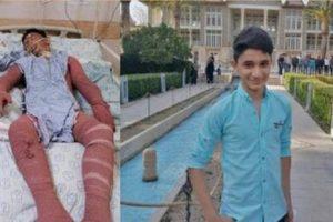درگذشت تلخ ابرقهرمان 15 ساله ایذه ای «علی لندی»