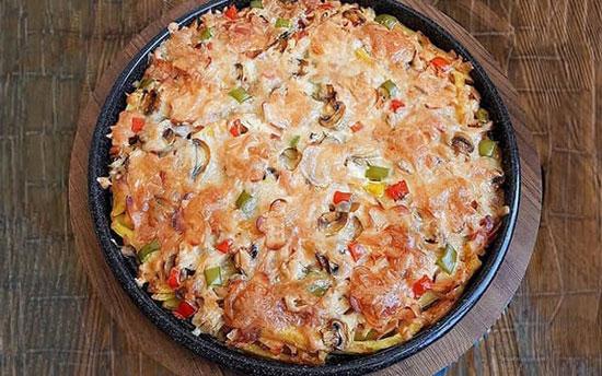روش تهیه پیتزای برنج عالی و خوشمزه