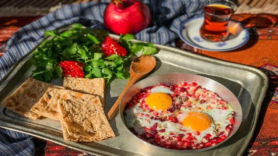 روش تهیه املت انار غذای استان مازندران