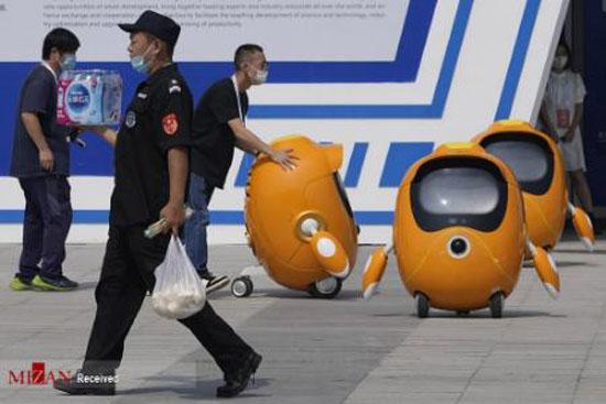 تصاویری از نمایشگاه جهانی رباتیک 2021 در پکن برای طرفداران رشته رباتیک